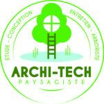 logo de l'entreprise archi-tech paysagiste étude création entretien arboriste cote d'opale
